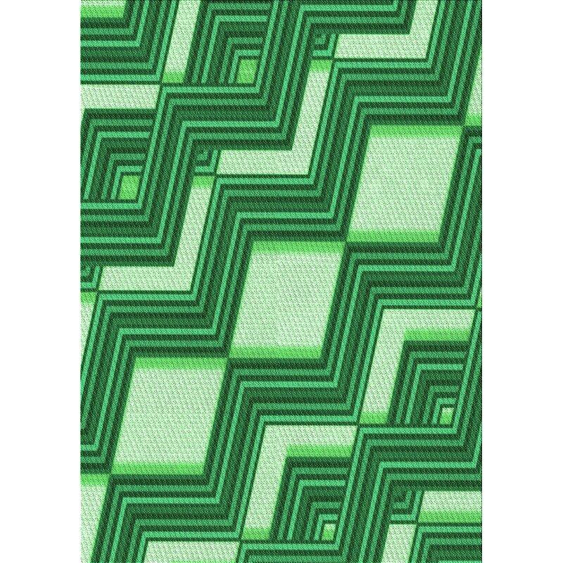 East Urban Home Abstract Wool Green Area Rug Wayfair