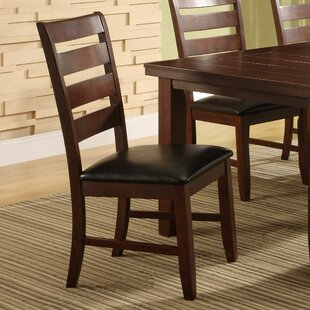 Lecroy Upholstered Dining Chair (Set of 2) Millwood Pines
