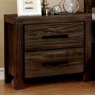 Rowley 2 Drawer Nightstand by Loon Peak