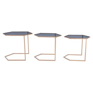 Leaman 3 Piece Nesting Table Set