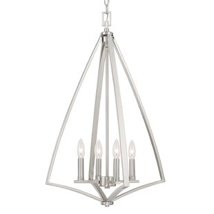 Latitude Run Lora 4-Light Geometric Chandelier