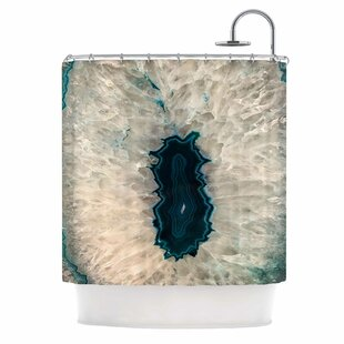 'Aqua Quartz' Single Shower Curtain