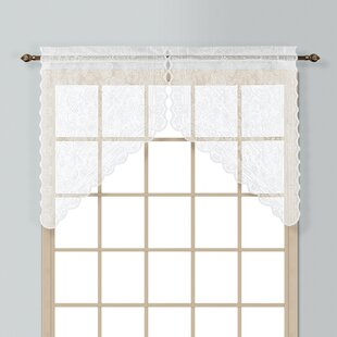 Windsor 2 Piece 56 Curtain Valance Set by United Curtain Co.