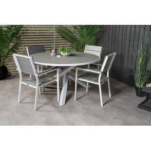 Akia 4 Seater Dining Set By Sol 72 Outdoor