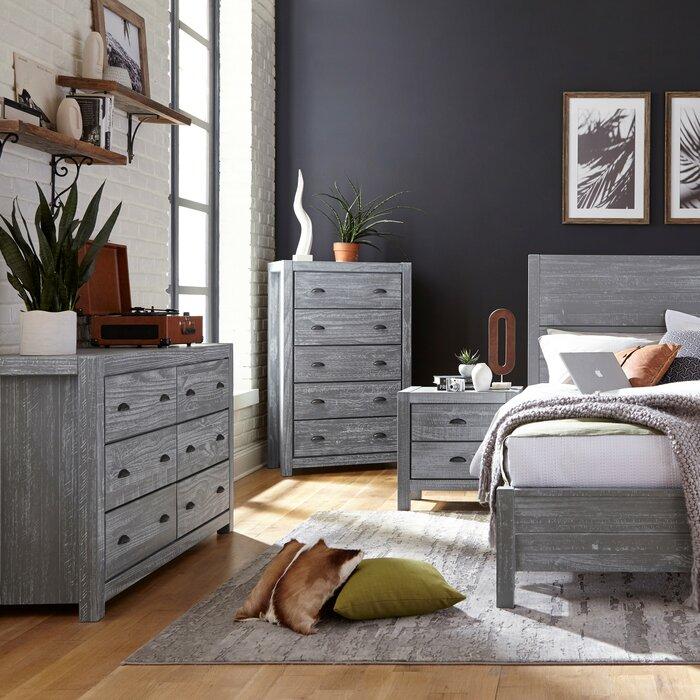 Montauk Standard 3 Piece Bedroom Set