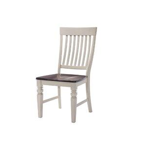 August Grove Adalgar Slat Back Wood Dining Chair
