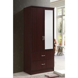 Ebern Designs Guernsey 2 Door Armoire