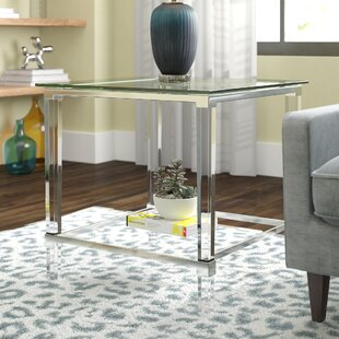 Aleah Modern End Table