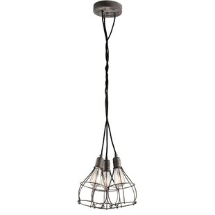 Affordable Price Calderon 3-Light Cluster Pendant By Williston Forge