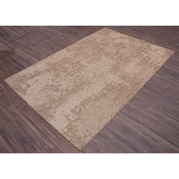 17 Stories Kempner Abstract Brown Beige Area Rug Wayfair