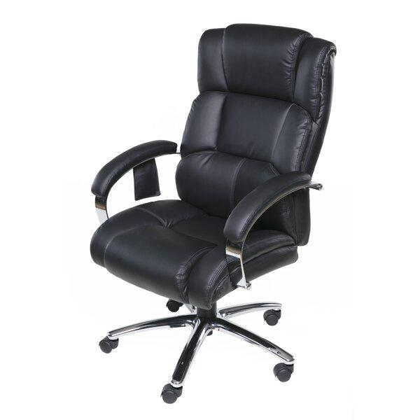 latitude run hurley heated massage executive chair reviews wayfair