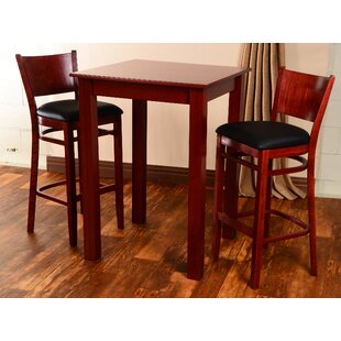 Irons 3 Piece Pub Table Set by..
