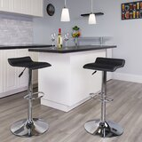 Orozco Swivel Adjustable Height Bar Stool by Williston Forge