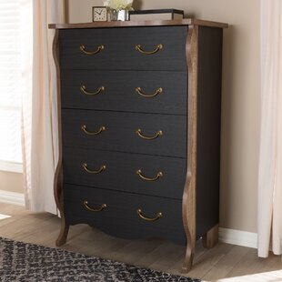 August Grove Huntsberry 5 Drawer Chest