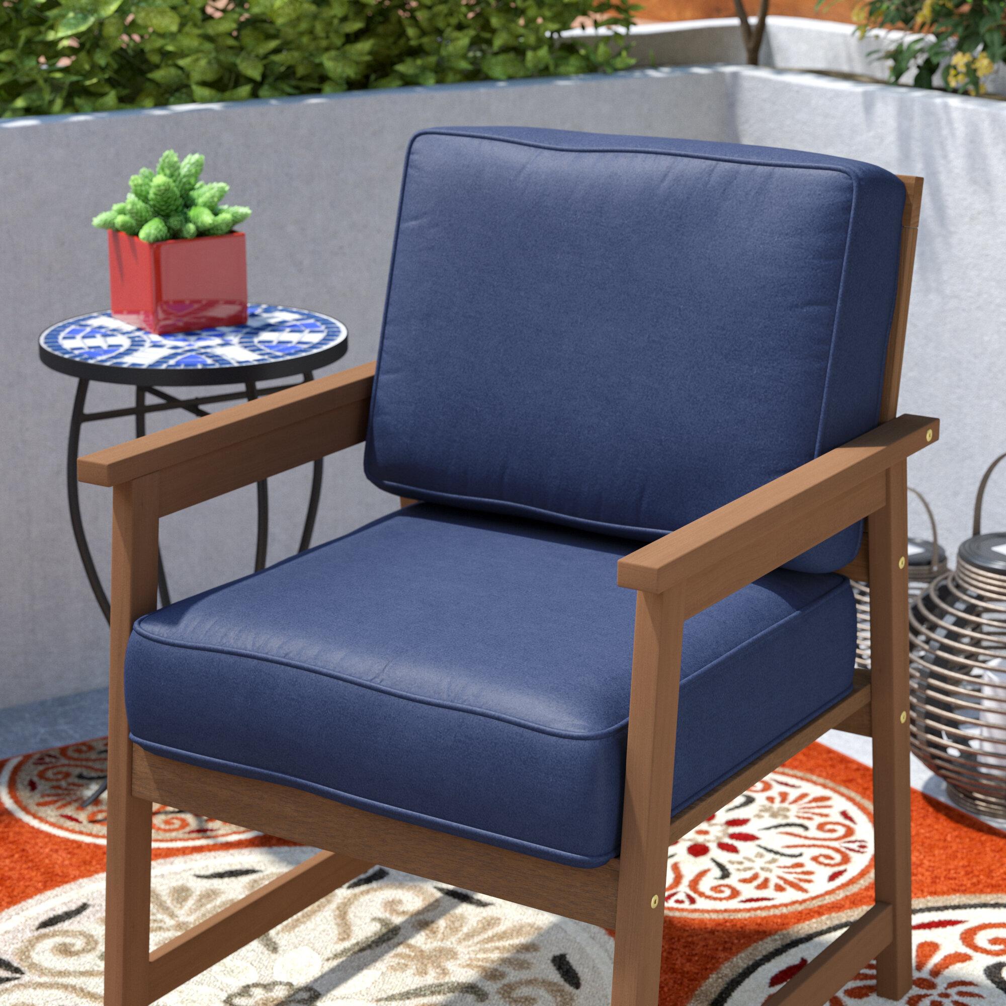 Brayden Studio Indoor Outdoor Lounge Chair Cushion Reviews Wayfair
