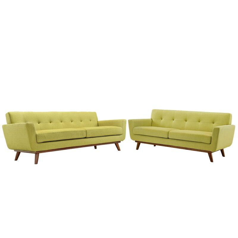 yellow living room set. Saginaw 2 Piece Living Room Set Corrigan Studio  Reviews Wayfair