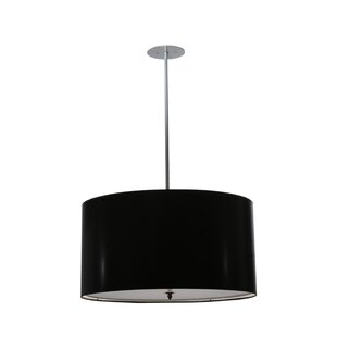 Meyda Tiffany Cilindro Paper 4-Light Pendant