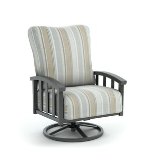 Rosecliff Heights Colvin Swivel Patio Chair with Sunbrella Cushion