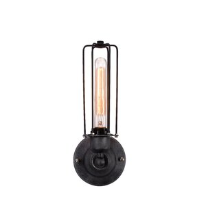 Hingham 1-Light Wire Cage Wall Sconce