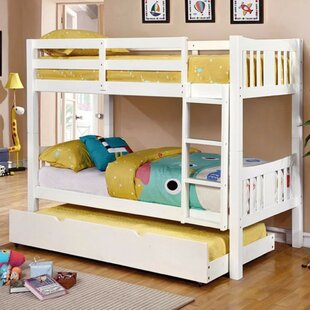 Compare prices Hidden Hills Twin/Twin Bunk Bed by Harriet Bee Reviews (2019) & Buyer's Guide