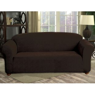 Compare Box Cushion Sofa Slipcover by Red Barrel Studio Reviews (2019) & Buyer's Guide
