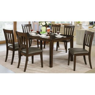 Don 7 Piece Dining Set by Millwood Pines