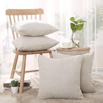 Millwood Pines Jaylen Brave Free Fox Indoor Outdoor Linen Throw Pillow Wayfair