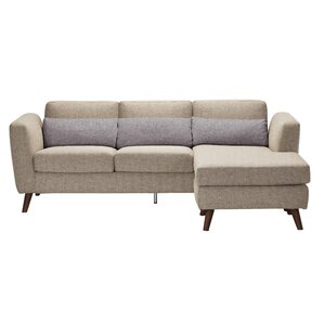 Brandin Reversible Sectional by Corrigan Studio