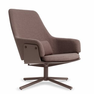 Lock Swivel Lounge Chair by Blu Dot