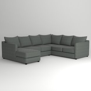 Low priced Alice Sectional by Wayfair Custom Upholstery™ Reviews (2019) & Buyer's Guide