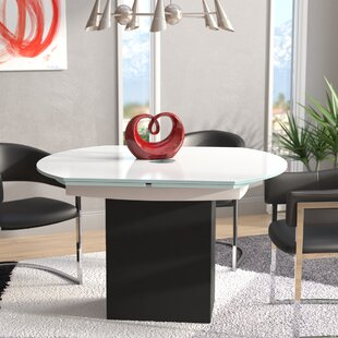 Arche Extendable Dining Table Orren Ellis