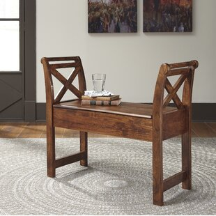 Best Price Kylan Wood Storage Bench By Mistana