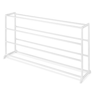 Affordable Floor 4-Tier 20 Pair Shoe Rack By Whitmor, Inc