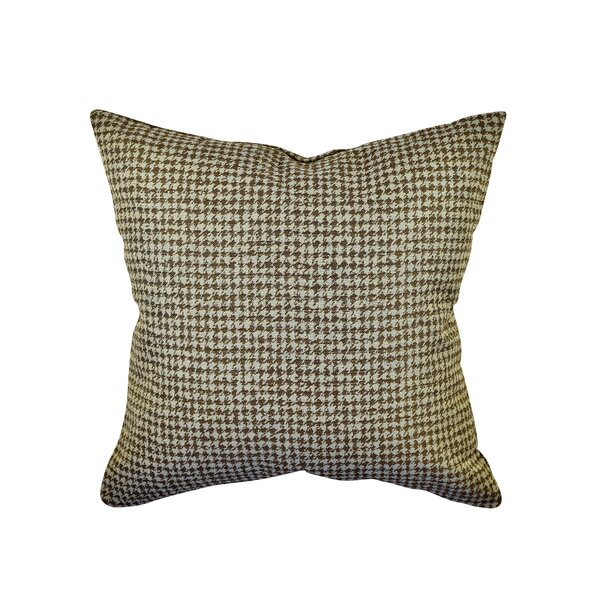 Vesper Lane Houndstooth Woven Throw Pillow Reviews Wayfair