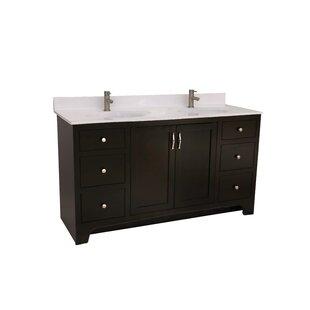 Steubenville -Door 61 Double Bathroom Vanity by Andover Mills