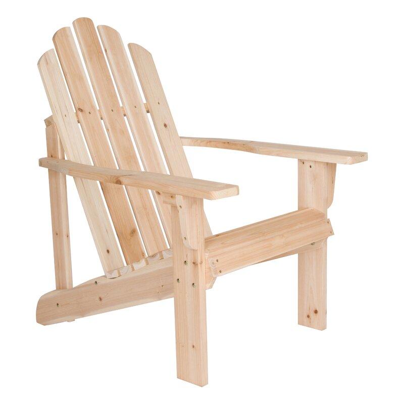 Marina Wood Adirondack Chair