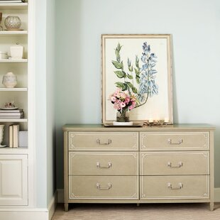 Savoy Place 6 Drawer Double Dresser
