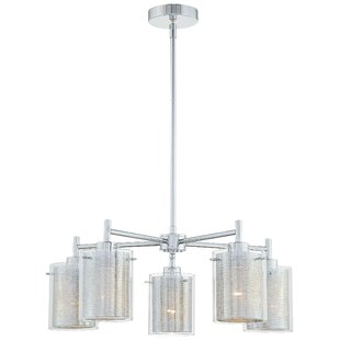 Zipcode Design Susan 5-Light Shaded Chandelier
