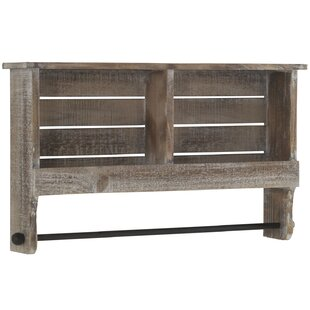 Bowers Wooden Wall Shelf By Union Rustic
