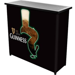 Trademark Global Guinness Feathering Portable Home Bar