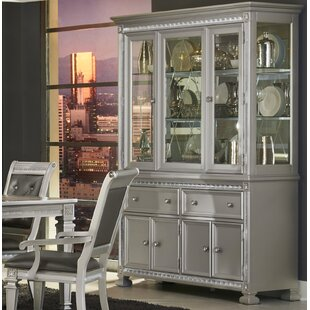 Rosdorf Park Mabe Lighted China Cabinet