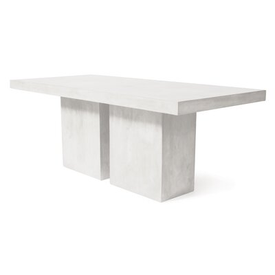Loire Concrete Dining Table by Seasonal Living Great Reviews