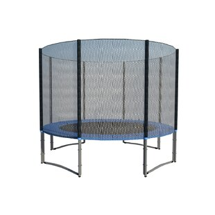 Newacme LLC 10' Trampoline with Enclosure Net