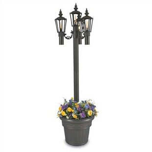 Reviews Islander Outdoor 4-Light 85 Post Light By Patio Living Concepts