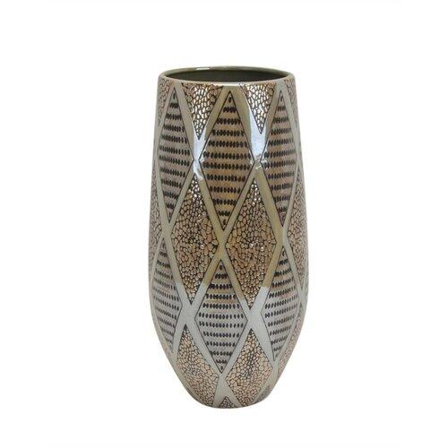 Bloomsbury Market Mebane Uniquely Styled Decorative Fan Ceramic Table Vase Wayfair