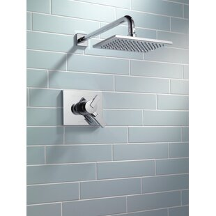 Delta Vero 17 Series Shower Faucet Trim with Lever Handles and Monitor