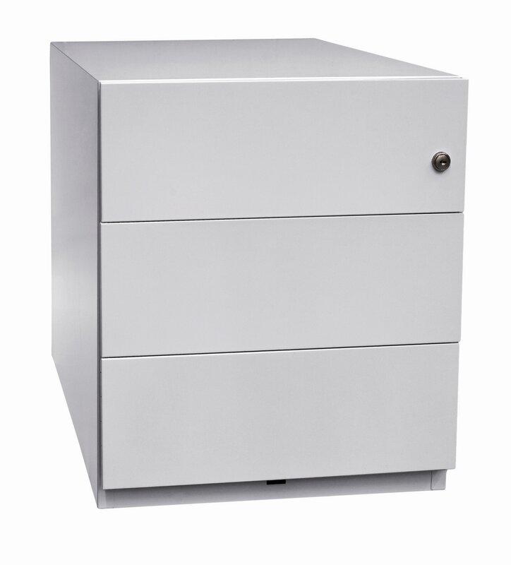 bisley rollcontainer note mit 3 schubladen bewertungen. Black Bedroom Furniture Sets. Home Design Ideas