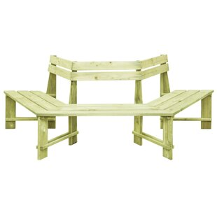 Review Sessions Wooden Tree Seat