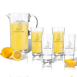 Personalized 5-Piece Beverage Serving Set
