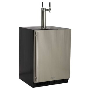 5.7 cu. ft. Twin Tap Full Size Kegerator